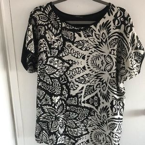 Zara bat sleeve shirt